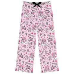 Princess Womens Pajama Pants (Personalized)