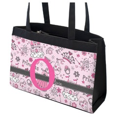 Princess Zippered Everyday Tote (Personalized)