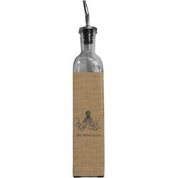 Octopus & Burlap Print Oil Dispenser Bottle (Personalized)