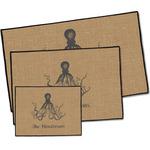Octopus & Burlap Print Door Mat (Personalized)