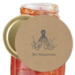 Octopus & Burlap Print Jar Opener (Personalized)