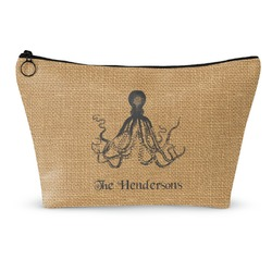 Octopus & Burlap Print Makeup Bags (Personalized)