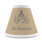 Octopus & Burlap Print Chandelier Lamp Shade (Personalized)