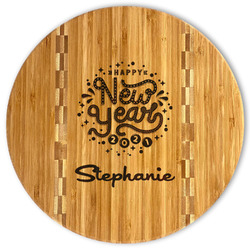 Happy New Year Bamboo Cutting Board (Personalized)