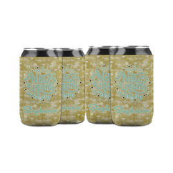 Happy New Year Can Sleeve (12 oz) w/ Name or Text