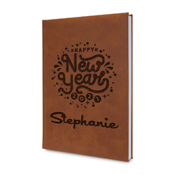 Happy New Year Leatherette Journal (Personalized)