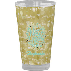 Happy New Year Drinking / Pint Glass (Personalized)