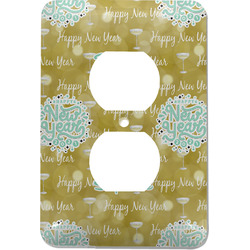 Happy New Year Electric Outlet Plate (Personalized)