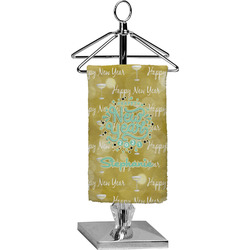 Happy New Year Finger Tip Towel - Full Print w/ Name or Text