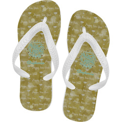 Happy New Year Flip Flops (Personalized)
