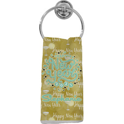 Happy New Year Hand Towel - Full Print w/ Name or Text