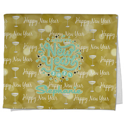 Happy New Year Kitchen Towel - Full Print w/ Name or Text