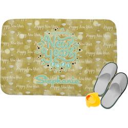 Happy New Year Memory Foam Bath Mat (Personalized)
