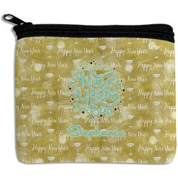 Happy New Year Rectangular Coin Purse w/ Name or Text