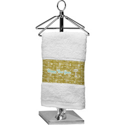 Happy New Year Cotton Finger Tip Towel (Personalized)