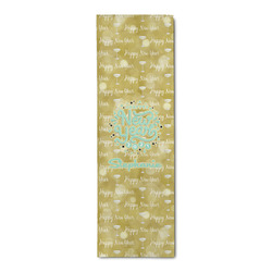 Happy New Year Runner Rug - 3.66'x8' w/ Name or Text