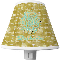Happy New Year Shade Night Light w/ Name or Text