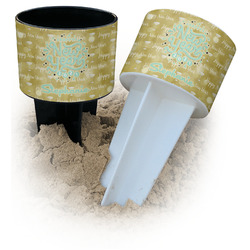 Happy New Year Beach Spiker Drink Holder (Personalized)
