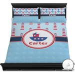 Light House & Waves Duvet Cover Set (Personalized)