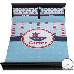 Light House & Waves Duvet Covers (Personalized)
