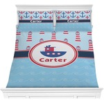 Light House & Waves Comforter Set (Personalized)