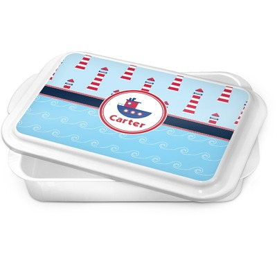 Light House & Waves Cake Pan (Personalized)