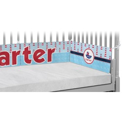 Light House & Waves Crib Bumper Pads (Personalized)