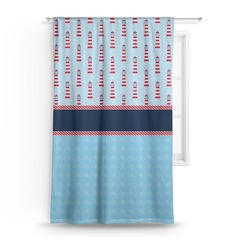 Light House & Waves Curtain (Personalized)