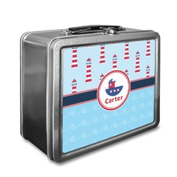 Light House & Waves Lunch Box (Personalized)
