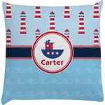 Light House & Waves Decorative Pillow Case (Personalized)