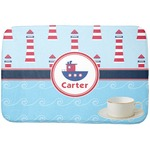 Light House & Waves Dish Drying Mat (Personalized)