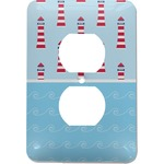 Light House & Waves Electric Outlet Plate (Personalized)