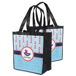 Light House & Waves Grocery Bag (Personalized)