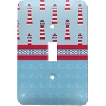 Light House & Waves Light Switch Cover (Single Toggle) (Personalized)