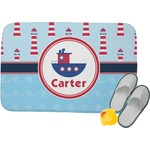 Light House & Waves Memory Foam Bath Mat (Personalized)