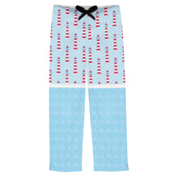 Light House & Waves Mens Pajama Pants (Personalized)