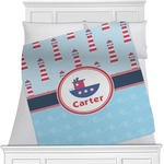 Light House & Waves Blanket (Personalized)