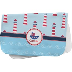 Light House & Waves Burp Cloth (Personalized)
