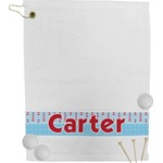 Light House & Waves Golf Towel (Personalized)
