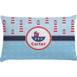 Light House & Waves Pillow Case (Personalized)
