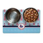 Light House & Waves Dog Food Mat (Personalized)