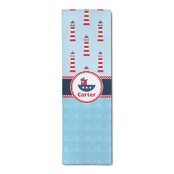 Light House & Waves Runner Rug - 3.66'x8' (Personalized)
