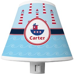 Light House & Waves Shade Night Light (Personalized)