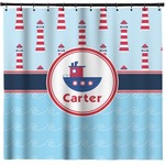 Light House & Waves Shower Curtain (Personalized)