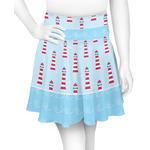Light House & Waves Skater Skirt (Personalized)