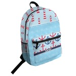 Light House & Waves Student Backpack (Personalized)