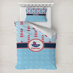 Light House & Waves Toddler Bedding w/ Name or Text