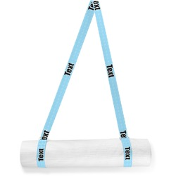 Light House & Waves Yoga Mat Strap (Personalized)
