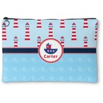 Light House & Waves Zipper Pouch (Personalized)