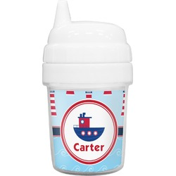 Light House & Waves Baby Sippy Cup (Personalized)